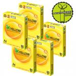 IK Yellow Paper A4 80gsm 450 Sheets