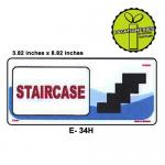 STAIRCASE SIGN BOARD