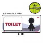 WOMEN LADIES TOILET SIGN ...