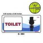 MEN GENTLEMEN TOILET SIGN...