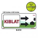 KIBLAT SIGN BOARD