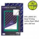 Blue 100'S Dolphin Carbon Paper