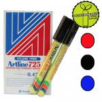 1 Box 12 Pcs Artline 725 ...