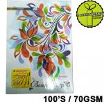 Book 100'S Exam Pad 70GSM...